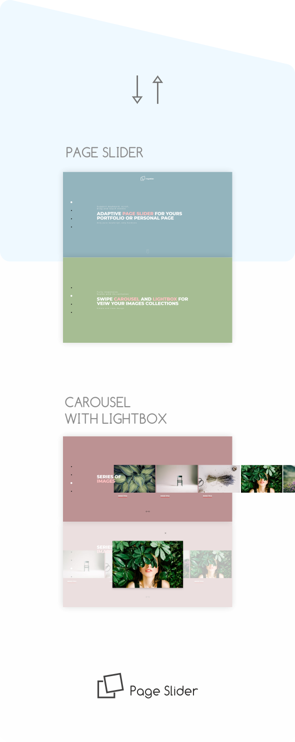 page slider preview